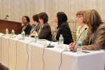 Photo: Diversity Panel (left to right), Lois Cooper, Adecco Group, NA; Kathy Haskins, Blue Cross Blue Shield of FL; Debbie Edwards, Northrop Grumman; Ramona Blake, PSEG; Carol Glazer, Nat'l Organization on Disability; Dr. Susan Shapiro, U. of Penn