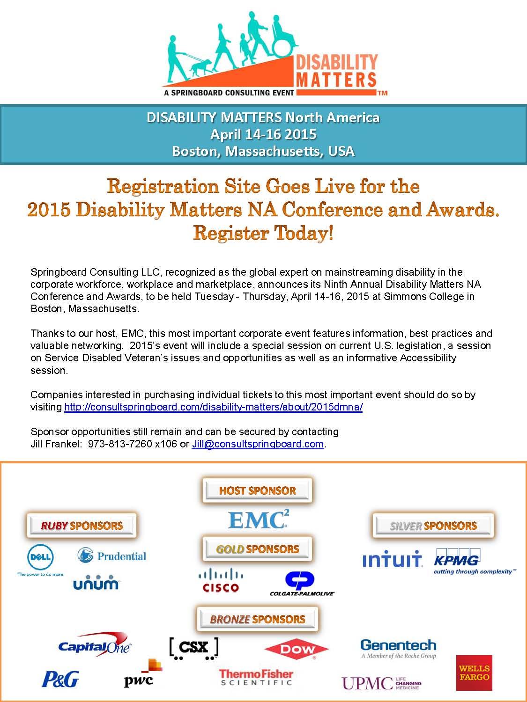 2015DMNA Registration Release