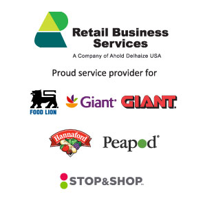 Retail Business Services A company of Ahold Delhaize | USA: various company logos
