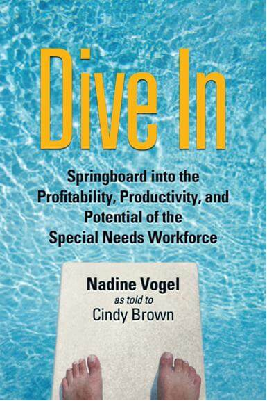 DIVE IN BOOK COVER - Nadine Vogel