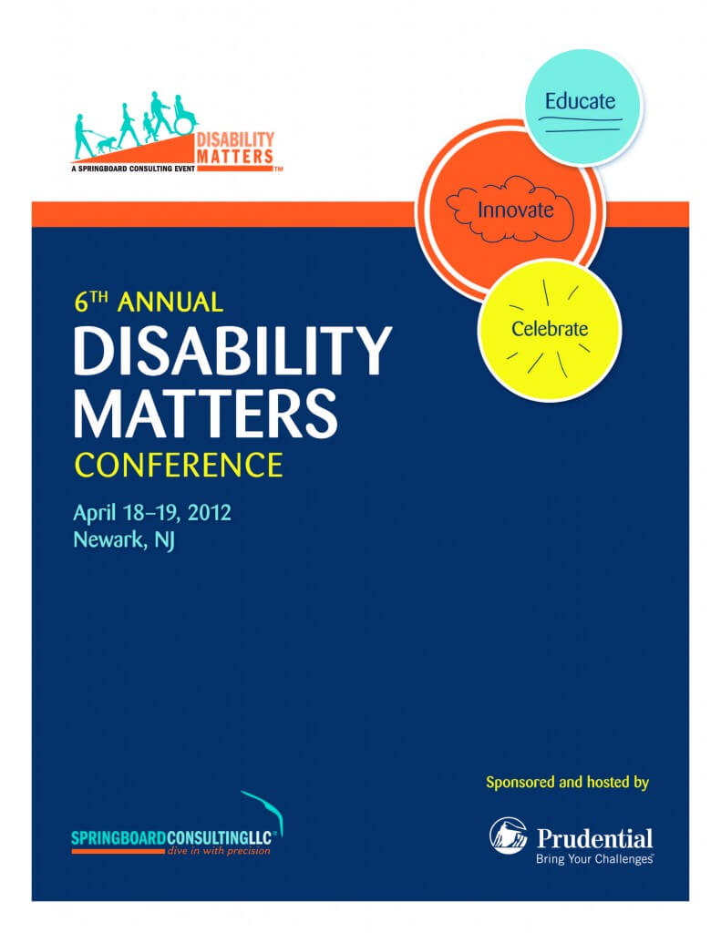 6th Annual Disability Matters Conference Photo Book