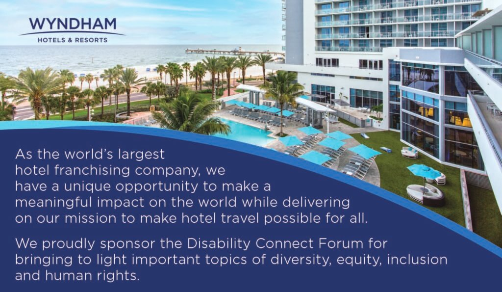 Wyndham Ad for Springboard's 2021 Disability Connect Forum