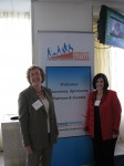 Photo: Barbara Wankoff, KPMG, LLP (left) and Nadine Vogel (right)
