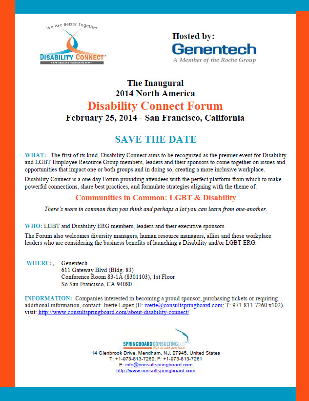 Disability Summit Flyer
