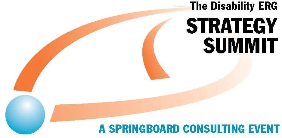 The Disability ERG Strategy Summit Logo