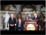 Photo: Jim Langevin, Nancy Pelosi, et al.